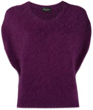 Roberto Collina knitted short sleeved top