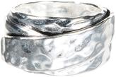 Barse Silvertone Ring