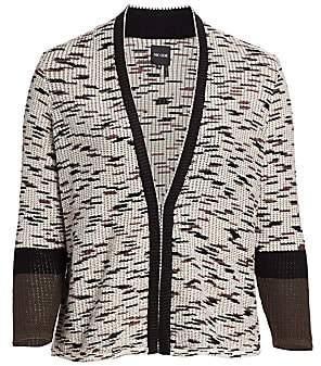 NIC + ZOE, Plus Size NIC + ZOE, Plus Size Women's Plus Perks Open Front Cardigan Sweater
