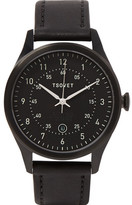 Tsovet Svt-rm40 Stainless Steel And Leather Watch