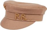 Thumbnail for your product : Ruslan Baginskiy Embellished Logo Baker Boy Hat