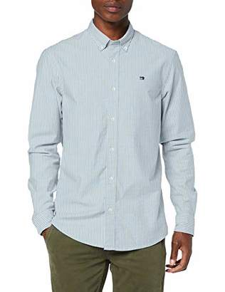 Scotch & Soda Men's Nos Oxford Shirt Relaxed Fit Button Down Collar Casual,Large