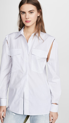 pushBUTTON Cutout Shirt