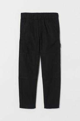 H&M Canvas Utility Pants