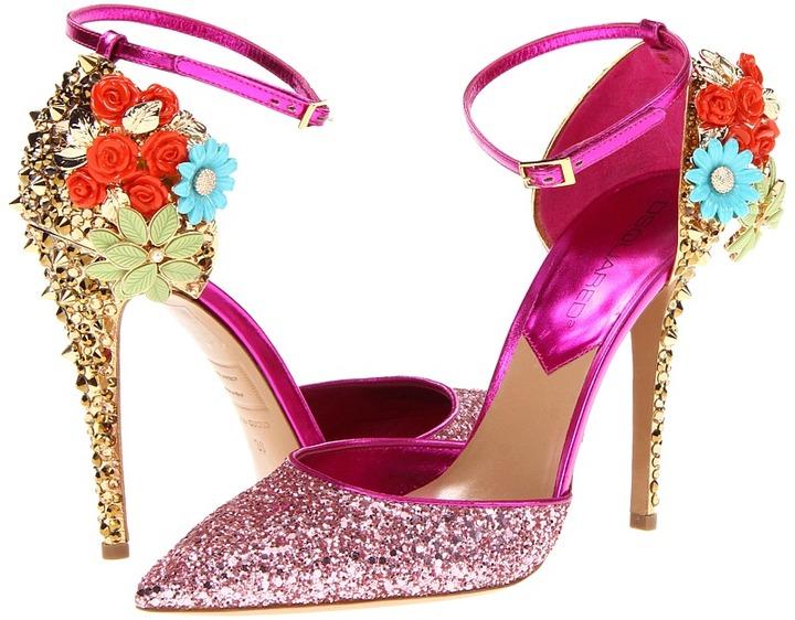 DSquared DSQUARED2 - W12A318292-48 (Glitter Rosa) - Footwear
