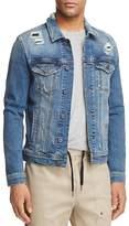 Mavi Jeans Frank Patched Denim Trucker Jacket