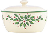 Lenox Holiday Covered Casserole Dish