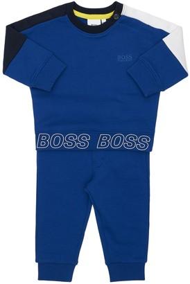 HUGO BOSS Cotton Sweatshirt & Sweatpants