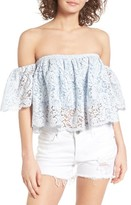 Lovers + Friends Women's Bayside Off The Shoulder Top