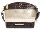Brahmin Mini Duxbury Leather Crossbody Bag - Beige