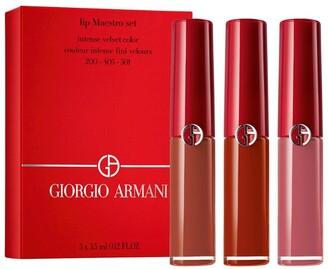 Giorgio Armani Lip Maestro Midi Lip Set
