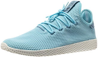 adidas Pharrell Williams x Blue Cotton Knit PW Tennis Hu Sneakers Size 46