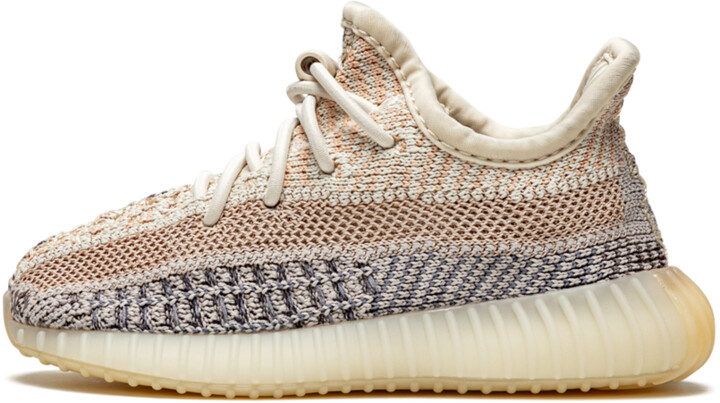Adidas Yeezy Boost 350 Infant 'Ash Pearl' Shoes - Size 5.5K