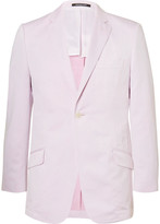 Richard James - Pink Slim-fit Cotton And Linen-blend Suit Jacket