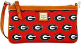 Dooney & Bourke Georgia Bulldogs Large Wristlet