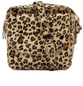 Nooki Design Cosmo Cross Body Bag - Hair On Leopard Print