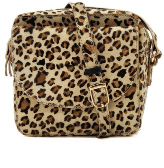 On Cosmo Cross Body Bag - Hair Leopard Print