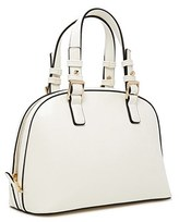 Forever 21 FOREVER 21+ Structured Faux Leather Satchel