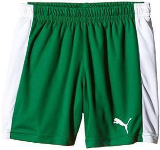 Puma Children's Shorts with Inner Brief Pitch - White