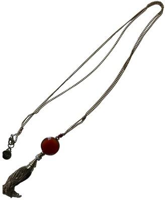 Gas Jeans Gold Metal Long necklaces