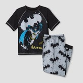 Batman Boys' DC Comics 2pc Augmented Reality Pajama Set - Black