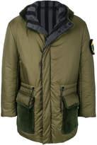 Fendi Reversible parka coat