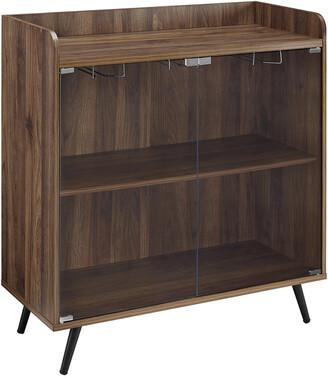 Hewson 36In Glass Door Bar Cabinet