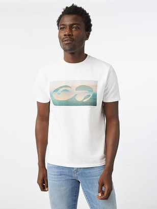 Frame Abstract Sunset Tee