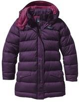 Patagonia Girl's 'Down For Fun' Water Repellent Coat