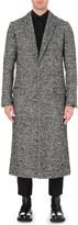 Haider Ackermann Checked alpaca-blend coat