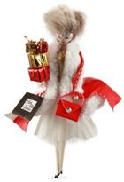 De Carlini Handblown Saks Lady Shopper Ornament