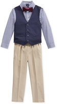 Nautica Little Boys' 3-Pc. Shirt, Vest & Pants Set
