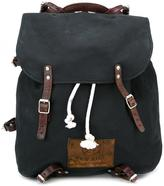 Golden Goose Deluxe Brand canvas backpack - men - Leather/Cotton - One Size