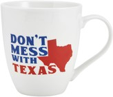 "Pfaltzgraff Don't Mess with Texas"" Mug"
