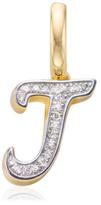 Monica Vinader Diamond Alphabet Pendant J