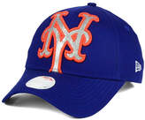 New Era Women's New York Mets Glitter Glam 9FORTY Strapback Cap