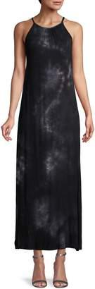 Matty M Tie-Dye Knit Maxi Dress