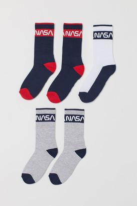 H&M 5-Pack Sports Socks