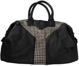 Saint Laurent Easy Black Leather Handbags