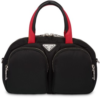 Prada Padded Nylon Top-Handle Bag