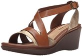 Hush Puppies Women's Rory Russo Wedge Sandal