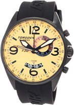 Torgoen Swiss Men's T30302 T30 Series Classic Black Aviation Watch