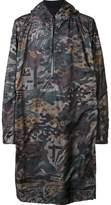 11 By Boris Bidjan Saberi camouflage pullover raincoat