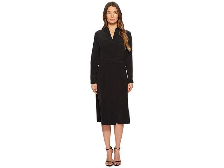 Vince Slit Back Shirtdress Women's Dress