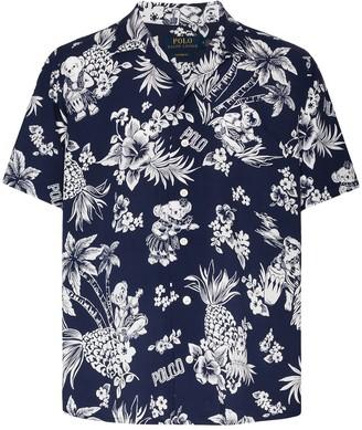 Polo Ralph Lauren Floral-Print Short-Sleeve Shirt