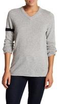 Freecity Free City Hum Colorblock Cashmere V-Neck Sweater