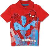 Marvel Toddler Boys' Spiderman Polo Shirt
