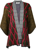 Circus Hotel patterned cardigan - women - Polyester/Viscose - 40