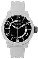 Kenneth Cole Reaction Unisex RK1431 Street Collection Analog Display Japanese Quartz White Watch