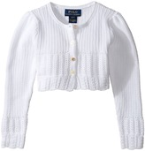 Polo Ralph Lauren Cotton Blend Sweet Shrug Sweater Girl's Sweater